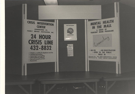 Signs about Crisis Intervention Center and Mental Health